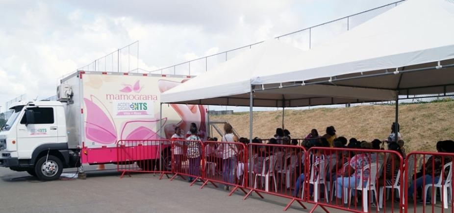 Instituto realizará exames de mamografia gratuitos na Arena Fonte Nova