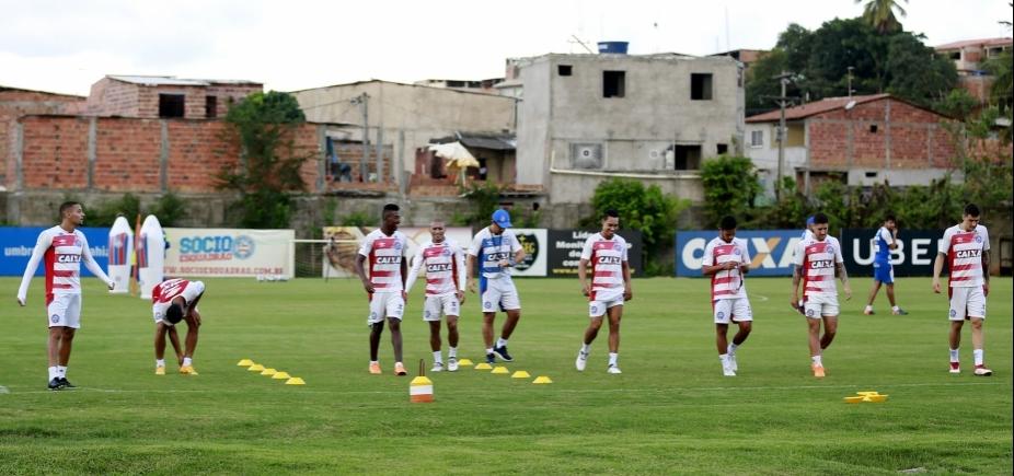 Com retorno de Allione, Bahia divulga relacionados para enfrentar o Botafogo-PB