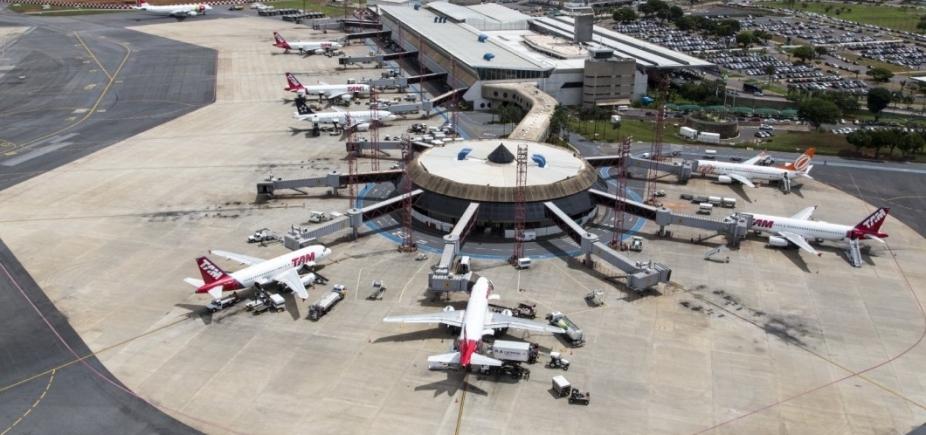 Mais de 1 milhão de passageiros vão transitar em 14 aeroportos no feriado