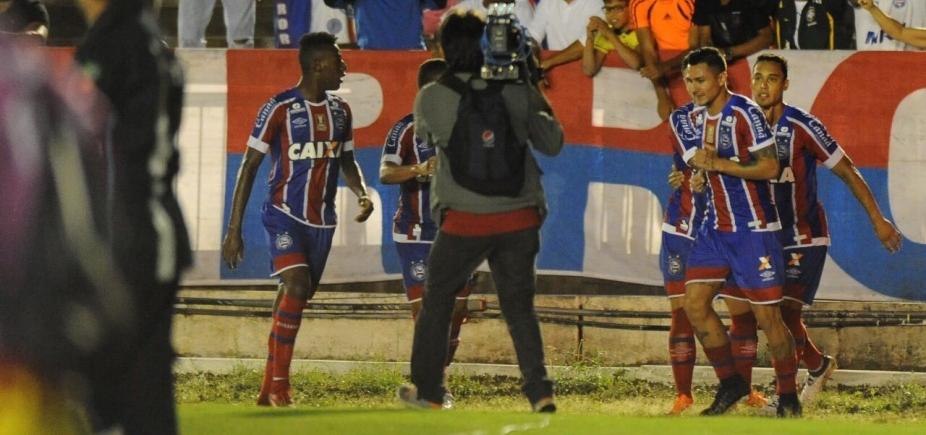 Bahia avança como líder após bater o Botafogo-PB por 2 a 0