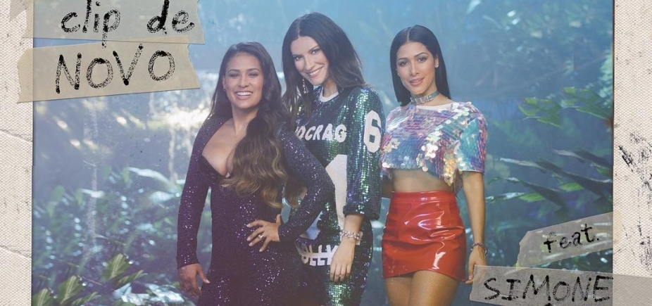 Laura Pausini lança clipe em parceria com Simone e Simaria, assista