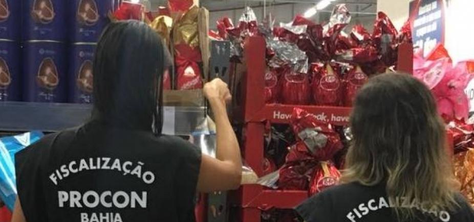Cerca de 25 estabelecimentos são notificados na Operação Páscoa, em Salvador