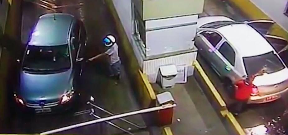 Policial morre após levar tiro em assalto a praça de pedágio em Candeias