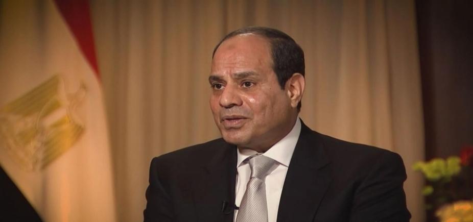 Sissi é reeleito presidente do Egito com 97% dos votos