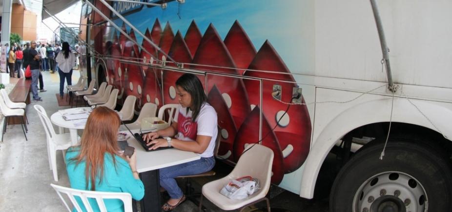 Hemoba realizará coleta de sangue e cadastro de medula na Estação da Lapa