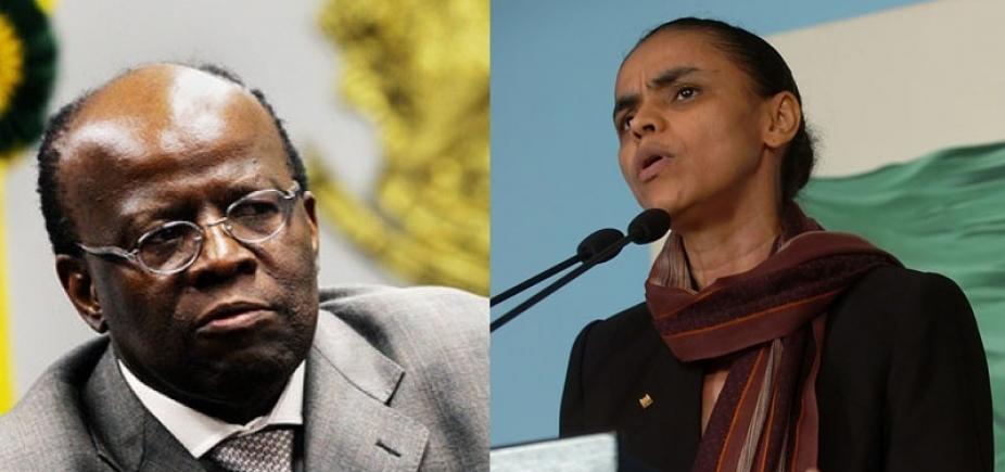 Aliança entre Marina Silva e Joaquim Barbosa está descartada