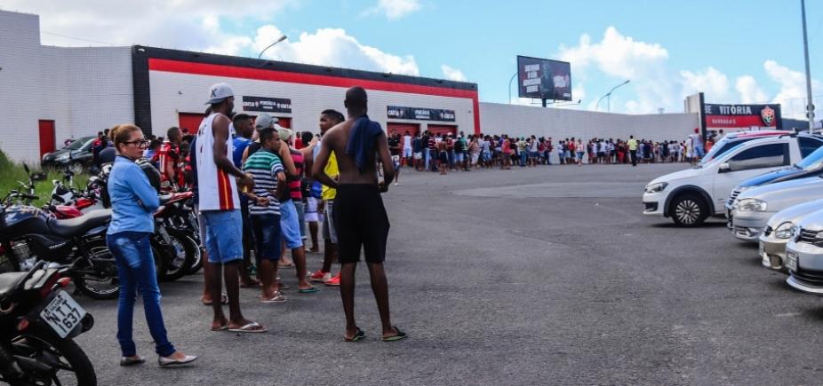 Lote de ingressos do Ba-Vi esgota e promoção é prorrogada