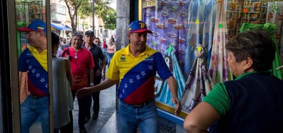 Candidato à presidência da Venezuela denuncia agressão a correligionário