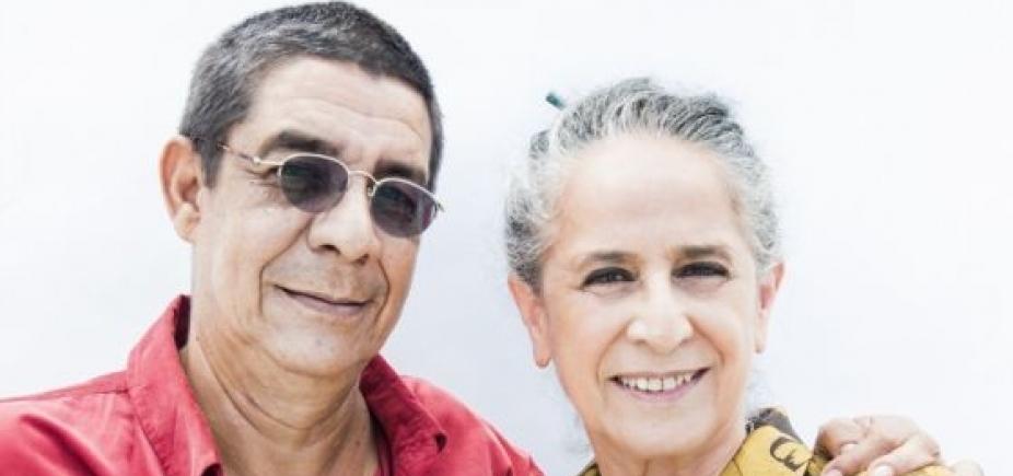 Maria Bethânia e Zeca Pagodinho fazem show juntos em Salvador