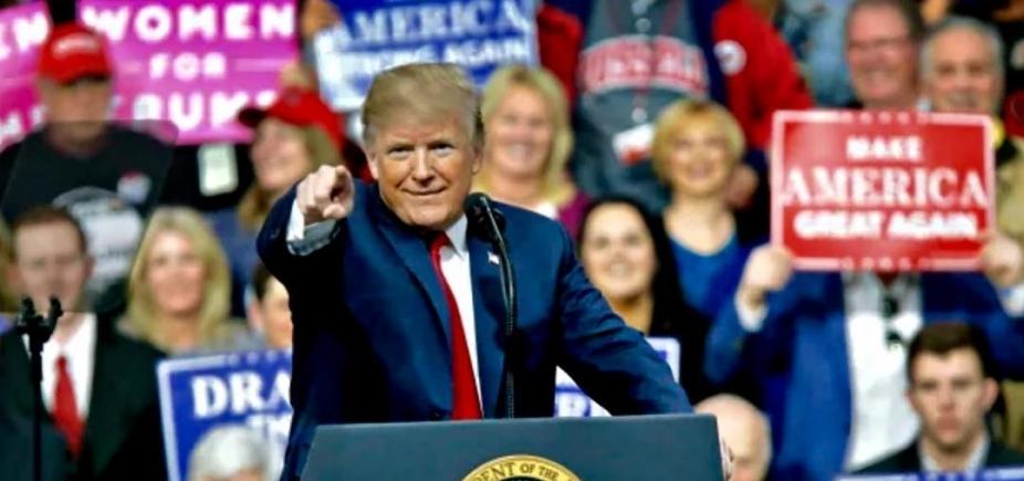 Trump diz que vai usar militares na fronteira com o México
