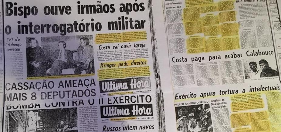 Há 50 anos, Ronaldo e Rogério Duarte eram sequestrados pela Ditadura Militar