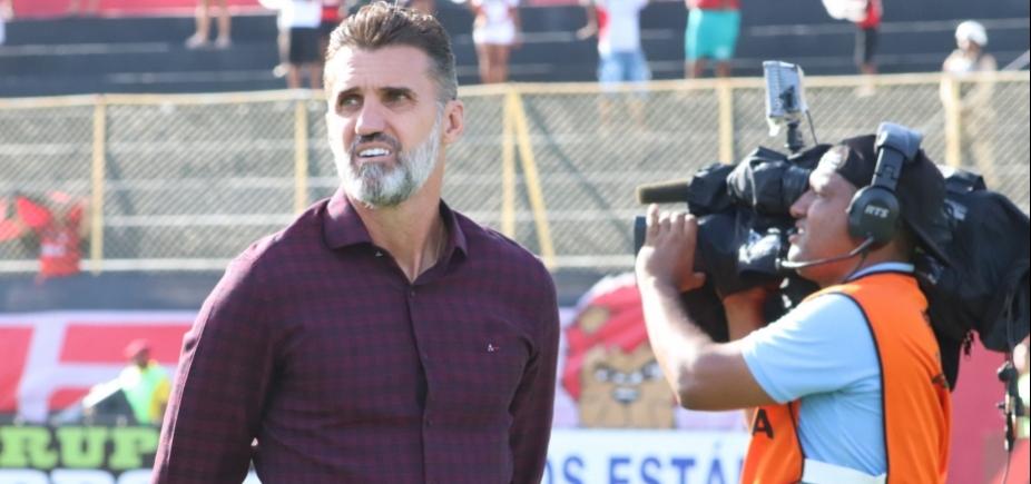 ʹAqui não tem chororôʹ, diz Mancini sobre erros contra o Vitória