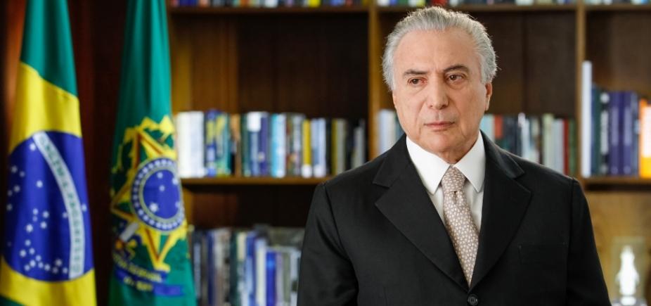 Governo Temer é reprovado por 72%; apenas 5% aprovam presidente, diz Ibope