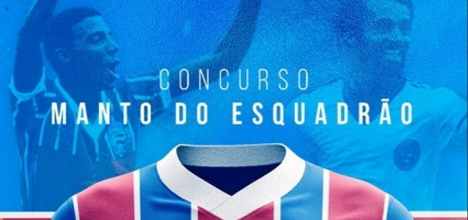 Bahia abre votação para escolha de novos uniformes pela torcida