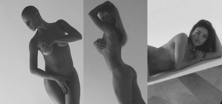 Projeto Pele: atrizes posam nuas em fotos sem retoques