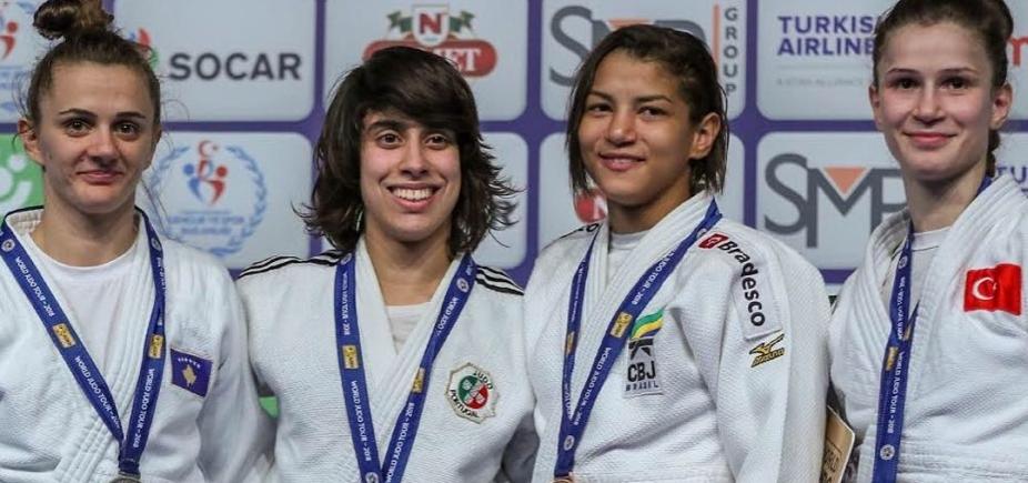 Sarah Menezes conquista segunda medalha de bronze consecutiva