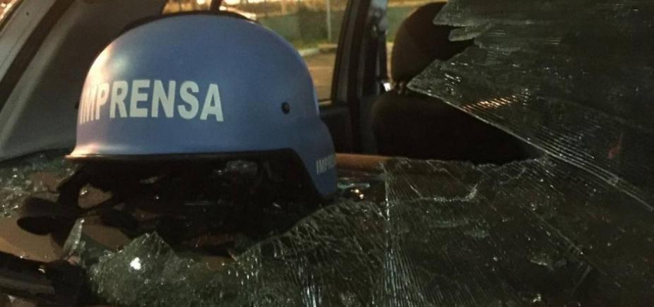 Jornalistas são agredidos por manifestantes contrários a prisão de Lula