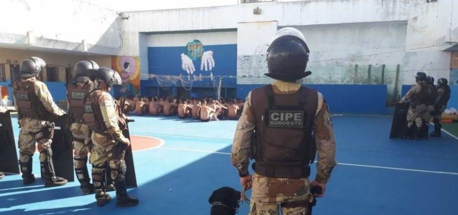 Conquista: inspeção acha 26 celulares, drogas e até Viagra com detentos