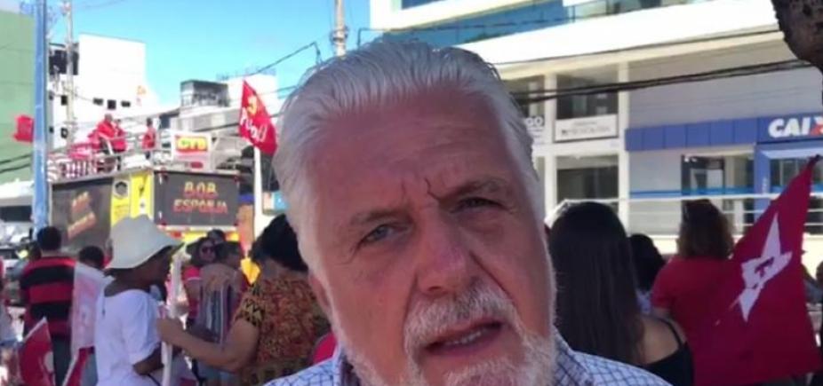 Wagner pede que militância faça vigília constante a favor de Lula; vídeo