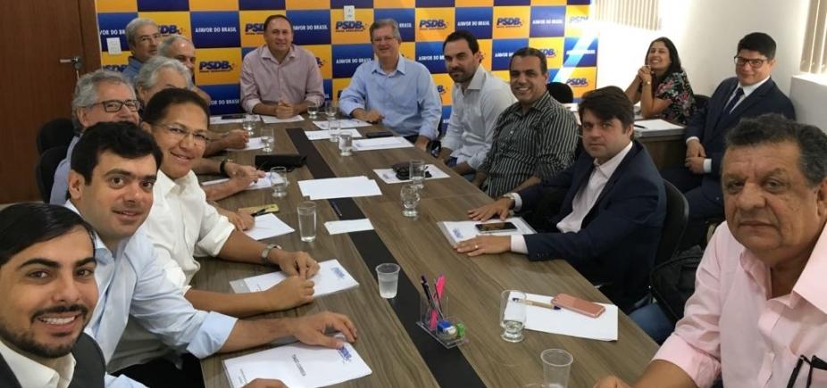 'Com coragem', PSDB lança Gualberto ao governo e Jutahy ao Senado