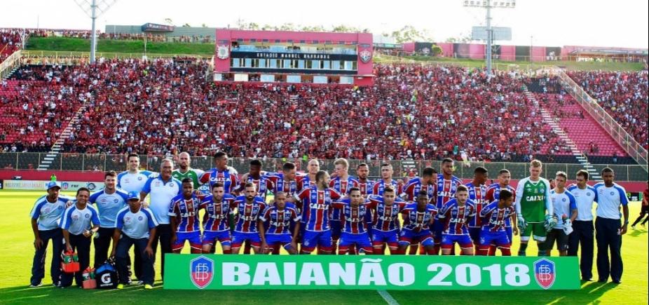 Seleção do Baianão tem quatro tricolores e três rubro-negros
