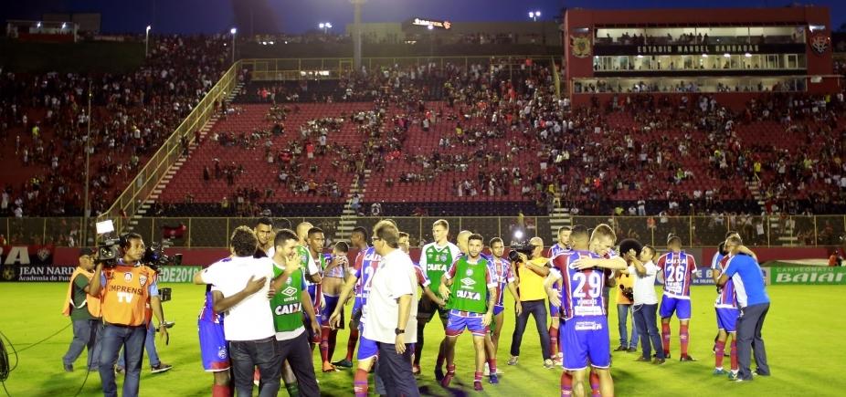 Vitória acusa Bahia de ação ʹorquestradaʹ e diz que rival foi ʹnegligenteʹ