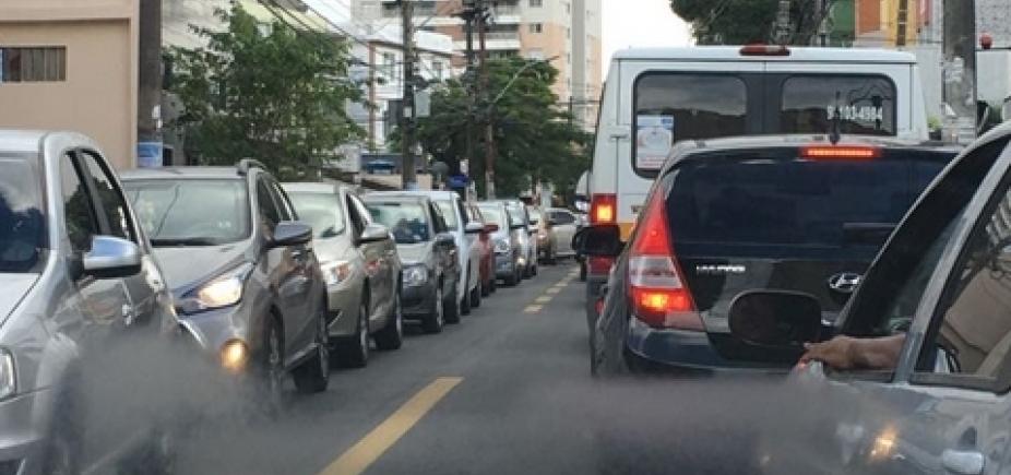 Ladeira do Acupe tem congestionamento nesta manhã; veja trânsito