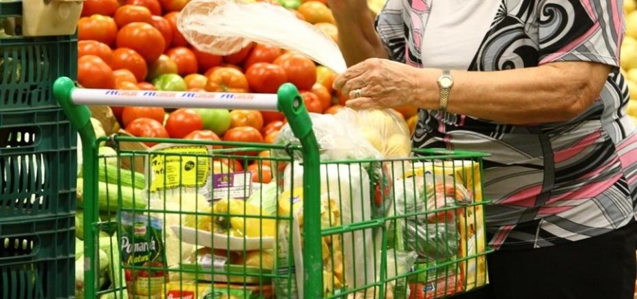 Inflação para famílias com renda até 5 salários é de 0,07% em março