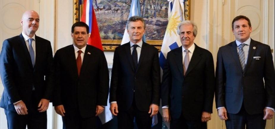 Copa de 2030: Argentina, Uruguai e Paraguai dividem sedes
