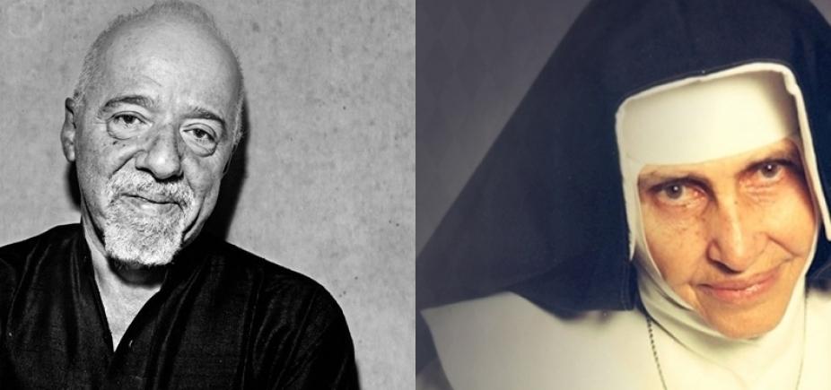 ʹIrmã Dulce matou minha fomeʹ, lembra Paulo Coelho