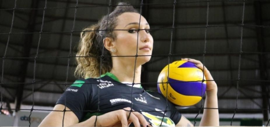 Destaque da Superliga Feminina, Tiffany se filia ao MDB