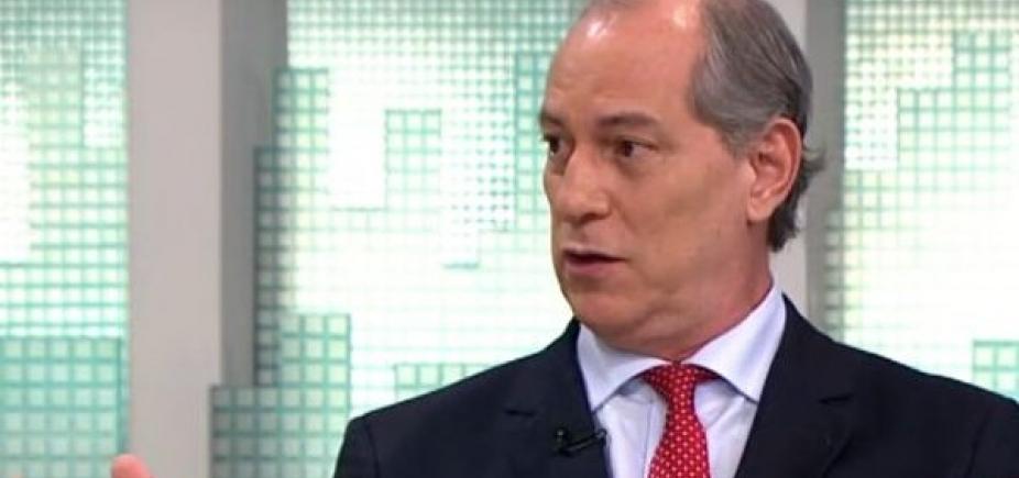 Ciro Gomes aposta que PT correrá para seus braços para evitar fiasco eleitoral