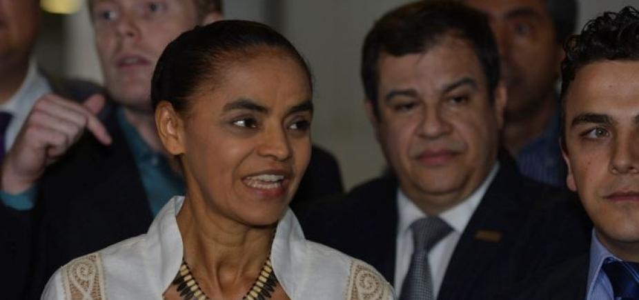 Marina Silva afirma ser contra a privatização da Eletrobrás