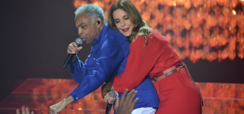 Gil e Ivete fazem primeiro grande show juntos em junho