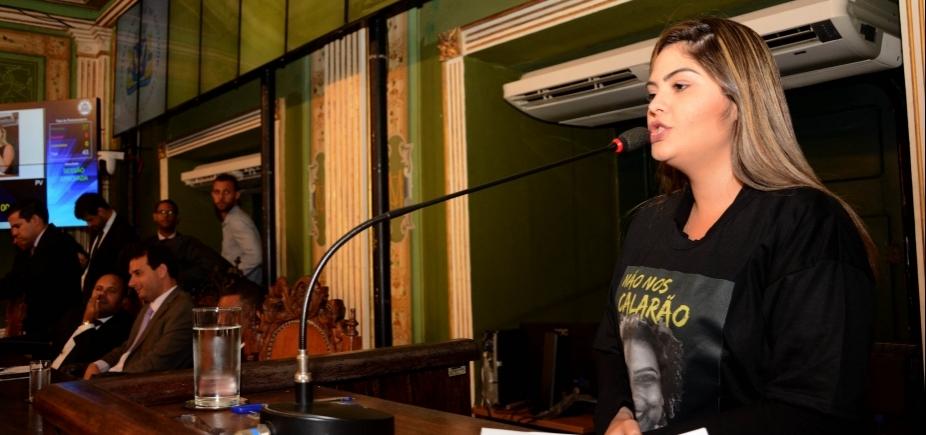 Gabinete de Marcelle Moraes é alvo de bandidos