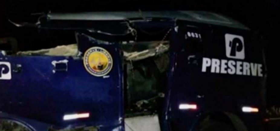 Grupo armado explode carro-forte no norte da Bahia