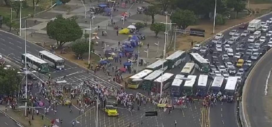 Fecomércio e Faeb criticam manifestações com fechamento de vias