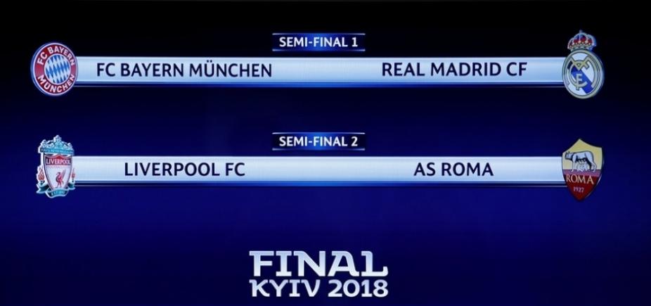 Favoritos, Real e Bayern duelam na semifinal da Champions