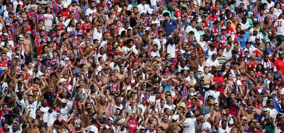 Maior entre nordestinos, Bahia é quarto colocado em torcida na região, diz pesquisa