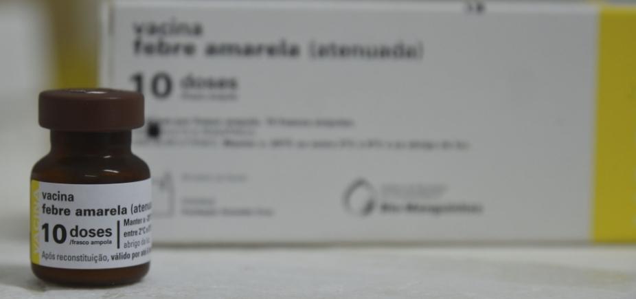 BA, SP e RJ estão abaixo da meta de vacinação contra febre amarela