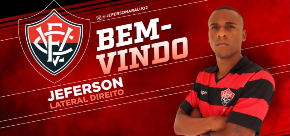 Regularizado, lateral-direito é anunciado pelo Vitória