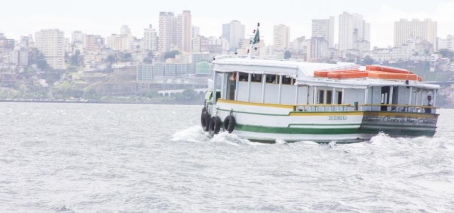 Travessia Salvador-Mar Grande encerra mais cedo por maré baixa
