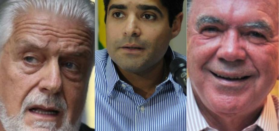 Assim como Alckmin, Wagner, Leão e Neto tiveram processos da Lava Jato remetidos ao TRE