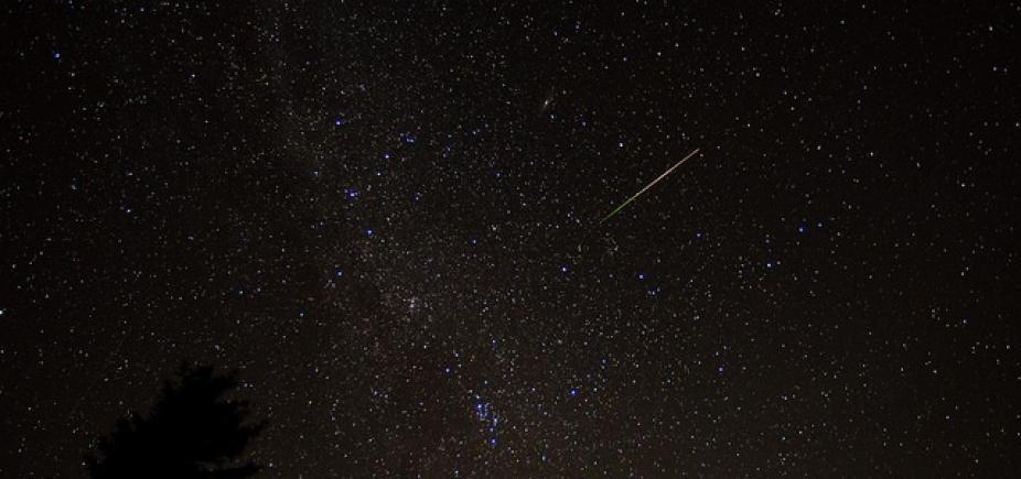 Chuva de meteoros Líridas vai ser mais visível no Norte e Nordeste