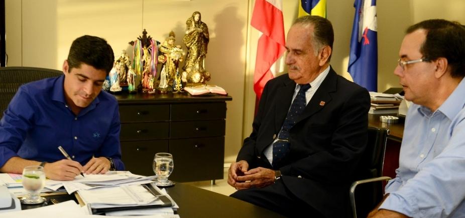 Prefeitura paga dívida com Hospital Aristides Maltez