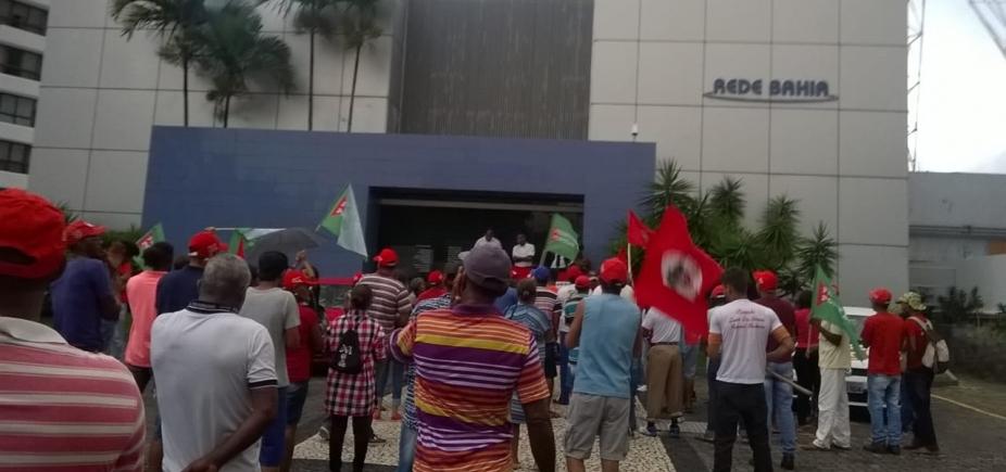 MST invade Rede Bahia e pede ʹLula Livreʹ