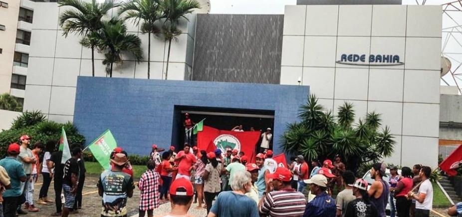 'Ocuparemos por tempo indeterminado', diz dirigente do MST sobre invasão à Rede Bahia