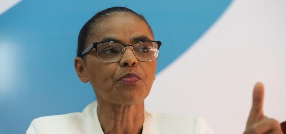 Marina diz que ʹsaúdaʹ decisão de Joaquim Barbosa entrar na política
