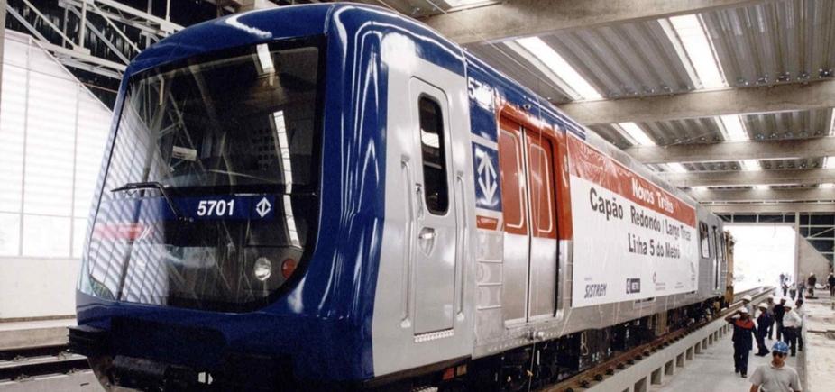Secretário de SP e outros 9 viram réus por trens de R$ 615 milhões sem uso