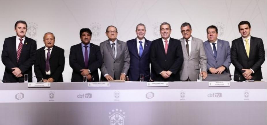 Ednaldo Rodrigues é eleito vice-presidente da CBF